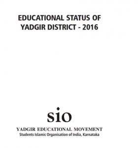 Educational Status of Yadgir.pmd